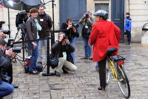 Taubira Vélo Paris