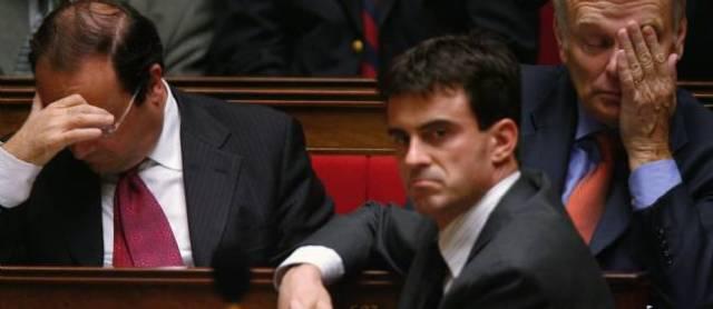 valls Hollande Ayrault Matignon Remaniement France Paris Politique
