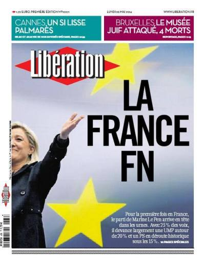 Libération FN Le Pen France