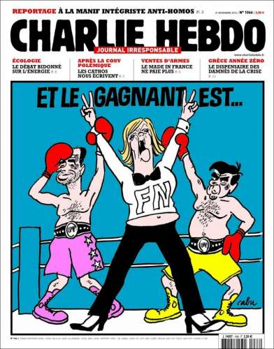 Charlie Hebdo FN UMP France