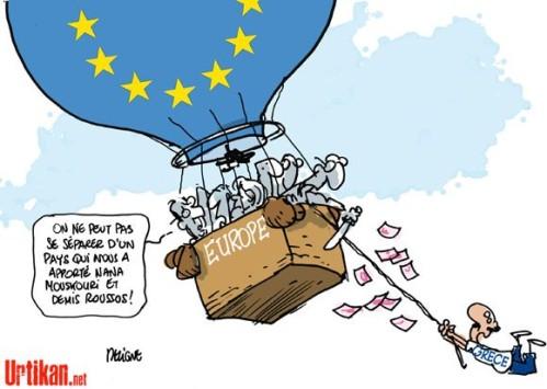 Europe Europa Montgolfière