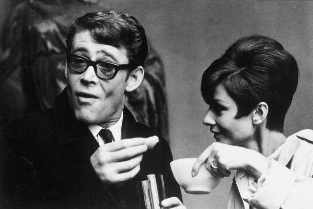 Audrey Hepburn Peter O'Toole How to Steal a Million Paris France