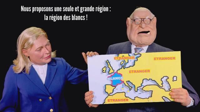 Guignols Le Pen
