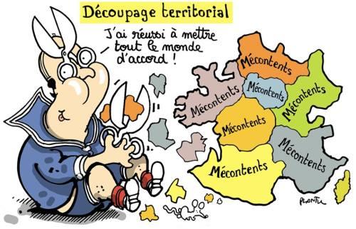 Plantu Hollande Régions