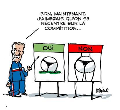 Deschamps Allez les Bleus France #CM2014 Rio Brésil Maracana