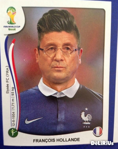 Hollande Football Panini Fifa Brésil