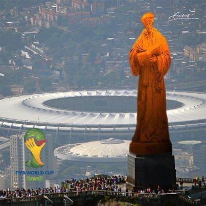 Brésil Rio Hollande Football