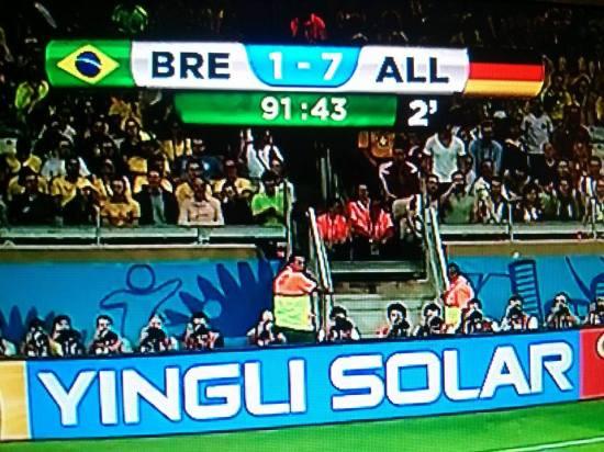 Brésil Allemagne