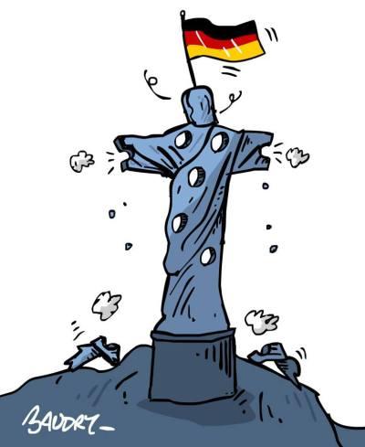 Allemagne Brésil #CM2014