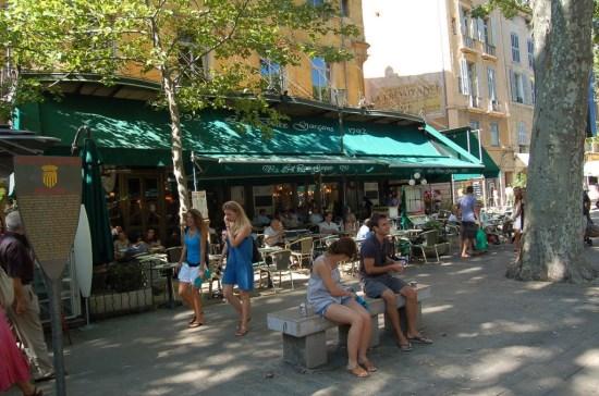 Aix en Provence Les Deux Garçons
