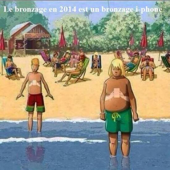 Bronzage Vacances iPhone