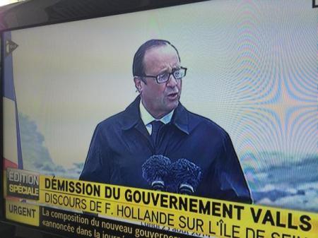 François Hollande Ile de Sein 25 aout 2014