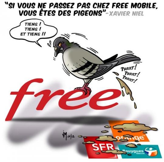 Xavier_Niel_pigeons_humour_Free_mobile