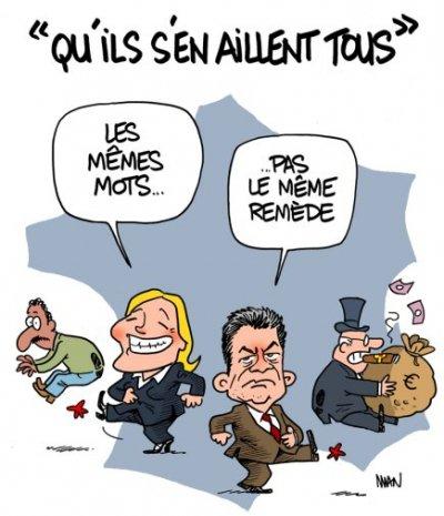 Caricature-Le-Pen-Melenchon