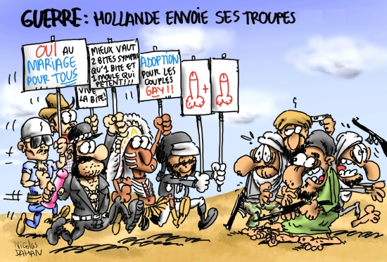 Guerre Hollande Dahan