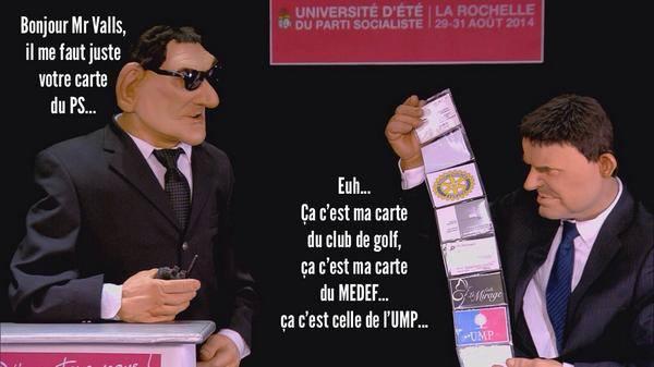 Arrivee-Valls-universite-ete-PS-guignols
