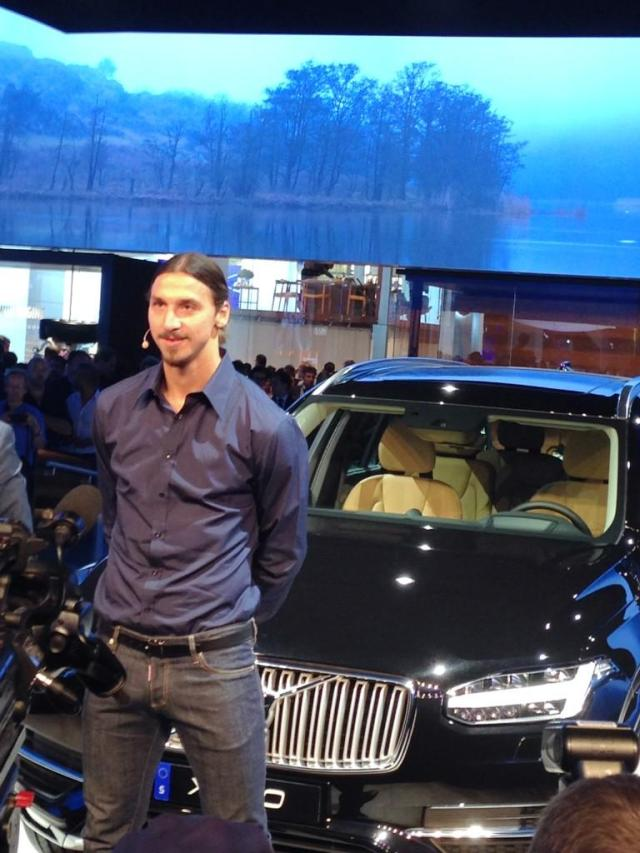 Zlatan Ibrahimovitch Volvo