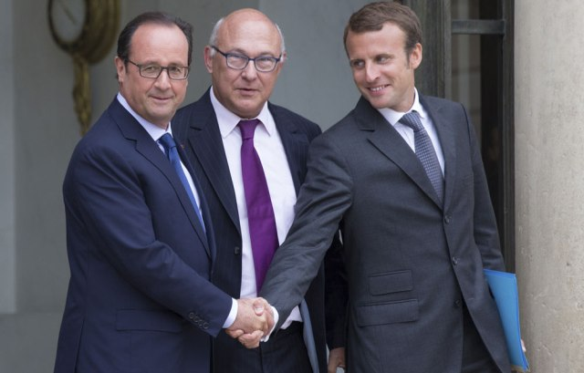 Hollande-Sapin-Macron