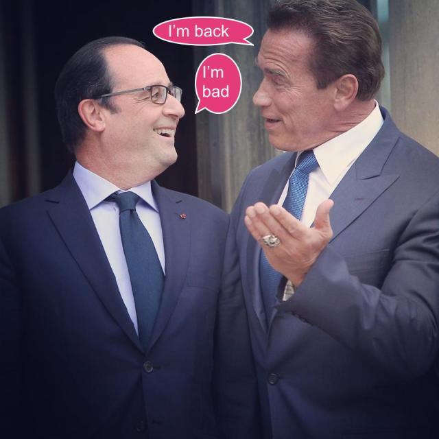 Hollande Schwarzeneger
