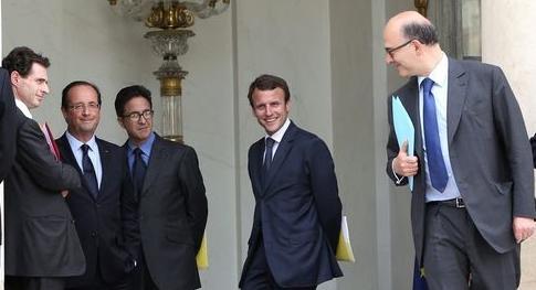 Macron and co