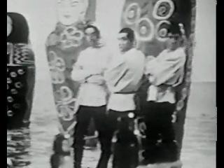 Serge Gainsbourg - Jean Yanne - Sacha Distel pourMarie Laforêt au Sacha Show en 1968