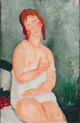 Jeune Femme - Modigliani