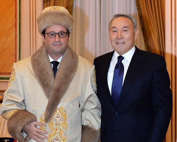 François Hollande en visite officielle au Kazakstan 5 6 decembre 2014