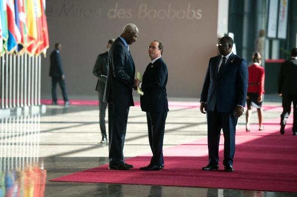 Diouf Hollande Dakar Francophonie 2014
