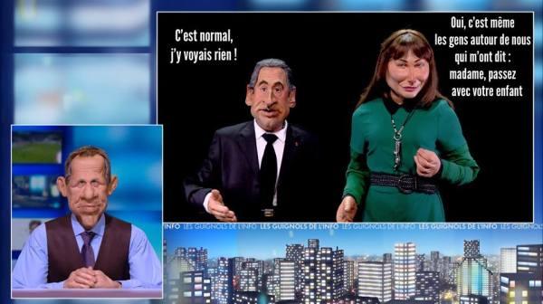Sarkozy Guignols de l'Info #JeSuisCharlie