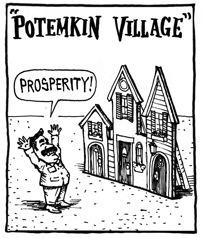 potemkin-village