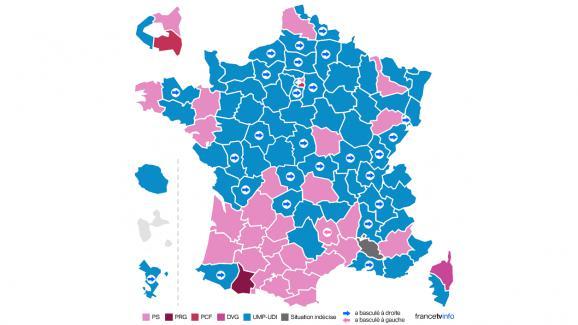 Départementales 2015 France
