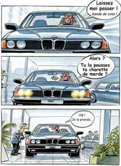 humour bmw