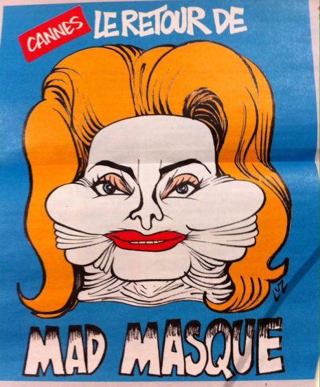 Catherine Deneuve Charlie Hebdo Festival de Cannes
