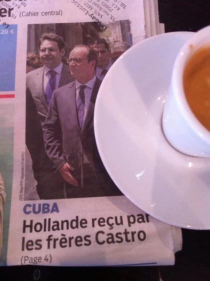 Cuba mai 2015 Hollande Feckl Le Parisien