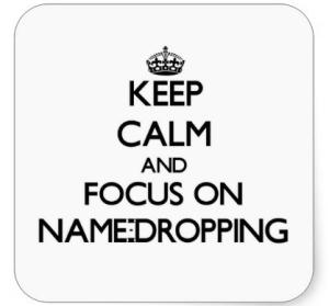 drop name