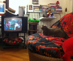 Chabada watching Audrey Paris 2011