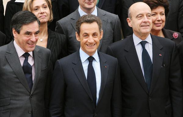 Fillon Sarkozy Juppé