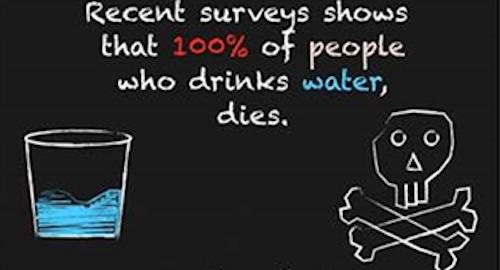 Water kills