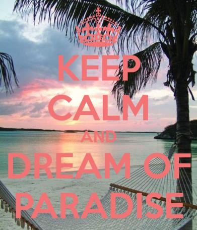 Keep Calm Paradis