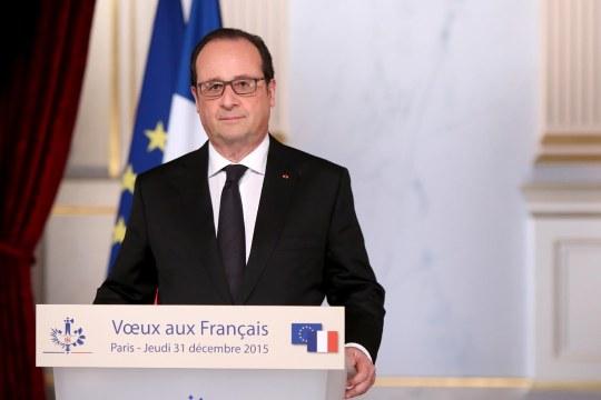 Voeux Hollande 2016 Elysee