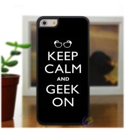 Gardez-le-calme-et-geek-mode-couvercle-du-boîtier-de-téléphone-pour-iphone-4-4S-5