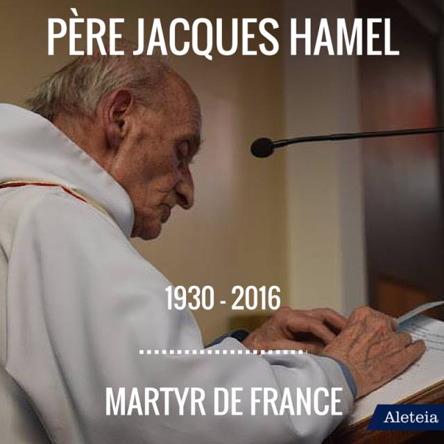 RIP Père Hamel