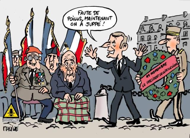 11 novembre Juppé Macron Placide